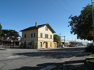 Gland, Switzerland - Gland train station