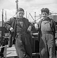 Glasgow Shipyard- Shipbuilding in Wartime, Glasgow, Lanarkshire, Scotland, UK, 1944 D20810.jpg