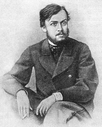 Gleb Uspensky - Gleb Uspensky in 1868