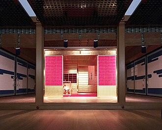 Golden Tea Room - Golden Tea Room, in the MOA Museum of Art, Atami