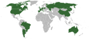 Countries for which Google Video is localized