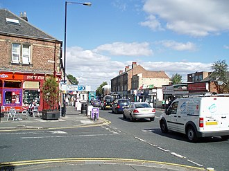Gosforth - Image: Gosforth High Street 4
