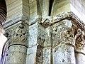 Gournay-en-Bray (76), collégiale St-Hildevert, bas-côté nord, chapiteaux dans l'angle sud-est.jpg