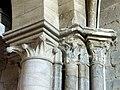 Gournay-en-Bray (76), collégiale St-Hildevert, bas-côté nord, chapiteaux dans l'angle sud-ouest.jpg