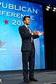 Governor of Louisiana Bobby Jindal at Southern Republican Leadership Conference, Oklahoma City, OK May 2015 by Michael Vadon 144.jpg