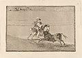 Goya - Un caballero espanol en plaza quebrando rejoncillos sin auxilio de los chulos.jpg