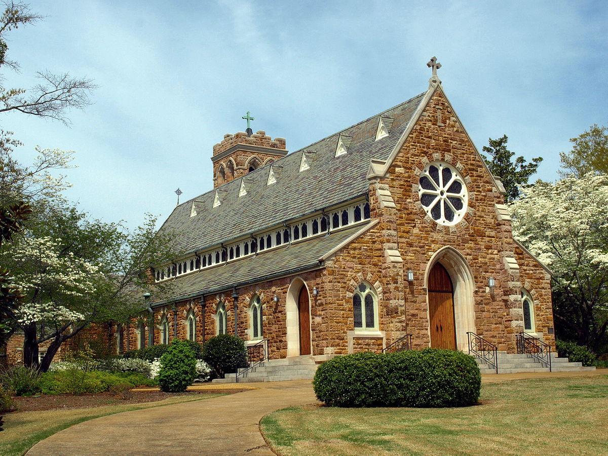 grace episcopal church  anniston  alabama