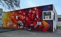 Graffiti at BewohnerInnen-Zentrum Klub KW, Karl-Wrba-Hof.jpg