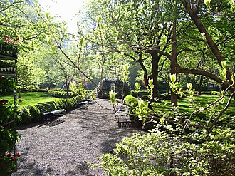 Gramercy Park - From the west gate