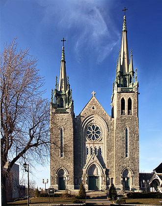 Granby, Quebec - Église Sainte-Famille.