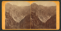 Grand Canon of the Arkansas, looking down. 5 miles above Canon City, Col, from Robert N. Dennis collection of stereoscopic views.png