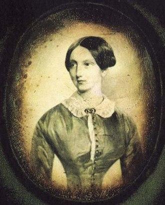 Grand Duchess Maria Nikolaevna of Russia (1819–1876) - Grand Duchess Maria Nikolaievna in her youth. Daguerreotype, 1840s.