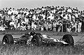 Grand Prix van Nederland, het rennersveld Jim Clark in zijn Lotus in actie, Bestanddeelnr 916-4688.jpg