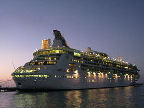 Grandeur of the Seas Royal Caribbean Cozumel Dusk.jpg