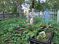 Grave crosses at Valday cemetery 2.jpg