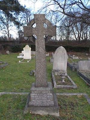 George Manville Fenn - Grave of George Manville Fenn in Isleworth Cemetery