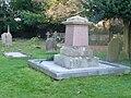 Graveyard at St Margaret's Church, Ifield.JPG