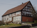 House Lüdertalstrasse 1 in Bannerod, view from the west, photo