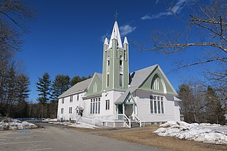 Greene, Maine - Greene Baptist Church