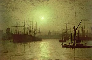 Dishonored - Image: Grimshaw Nightfall Thames