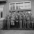 Groepsportret van de gedecoreerden met vooraan vierde van rechts prins Bernhard , Bestanddeelnr 255-7684.jpg