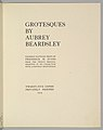 Grotesques by Aubrey Beardsley. Facsimile Platinum Prints by Frederick H. Evans from the Twelve Original Drawings in His Collection with a Portrait Frontispiece MET DP366701.jpg