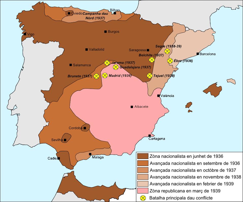 Guèrra d'Espanha