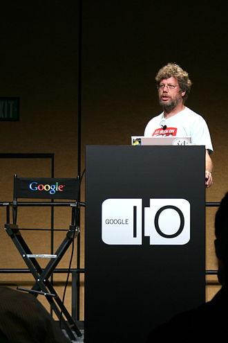 Guido van Rossum - van Rossum at the 2008 Google I/O Developer's Conference.