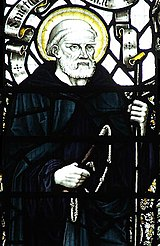Guthlac-Stained-Glass-Crowland-Abbey