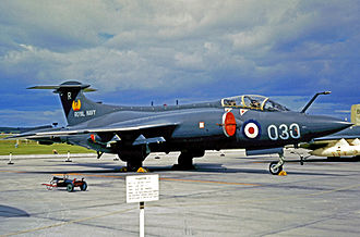 809 Naval Air Squadron - 809 Squadron Buccaneer S.2 wearing the R-030 code when serving aboard Ark Royal in 1970