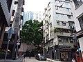 HK 上環 Sheung Wan 差館上街 Upper Station Street 太平山街 Tai Ping Shan Street Tai Shan House October 2019 SSG 03.jpg