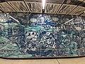 HK 港鐵 MTR 南港島線 South Island Line 利東邨站 Lei Tung Station January 2021 SS2 wall art 02.jpg