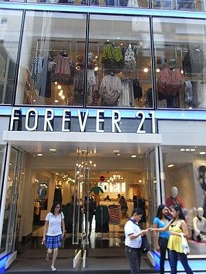 Forever 21 - Forever 21 in Hong Kong