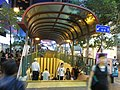 HK Mong Kok night Soy Street subway entrance Oct-2012.JPG