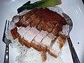 HK PFL campus 香港大學 HKU 黃克競大樓 Haking Wong Building catering outlet Union Restaurant (EAT) by Sodexo dinner rice 叉燒 BbQ pork meat 燒肉 pork meat 碟頭飯 May 2019 SSG 01.jpg