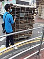 HK TST 尖沙咀 Tsim Sha Tsui 金巴利道 Kimberley Road near 加拿分道 Carnarvon Road 紙皮環保回收業 July 2020 SS2.jpg