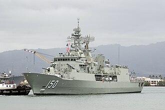 HMAS Anzac (FFH 150) - Image: HMAS Anzac Frigate