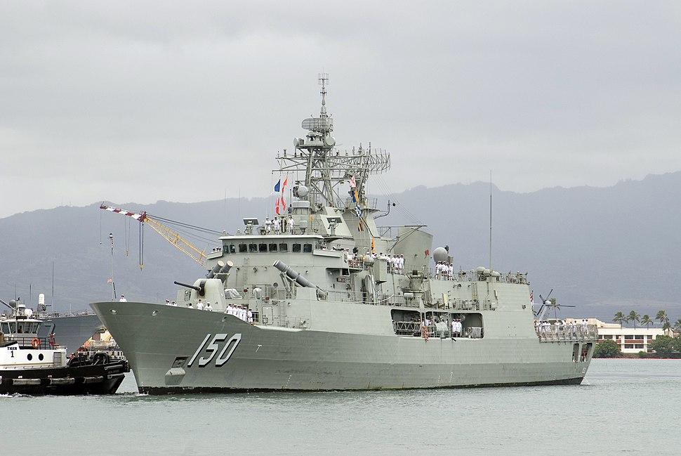 HMAS Anzac Frigate