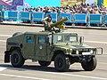 HMMWV Казахстанской армии с установленным ПТРК Фагот.JPG
