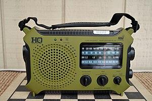 Emergency radio - Image: HQ Issue HQ500 (11789485805)