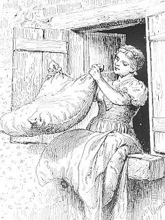 Frau Holle fairy tale (Grimms Märchen)