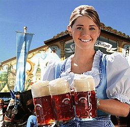 Hacker-Pschorr Oktoberfest Girl Remix
