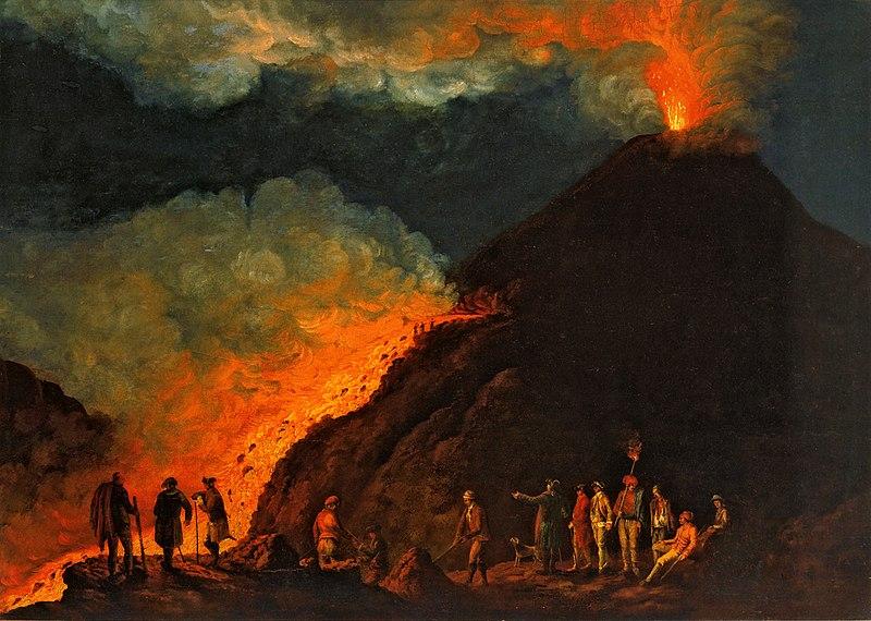 Ofbyld:Hackert, Der Ausbruch des Vesuv im Jahre 1774, 1774.jpg