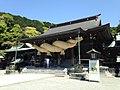 Haiden of Miyajidake Shrine.JPG