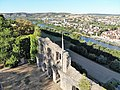 Hall Ruins, Karlsburg at River Main, Germany, with a view of Karlstadt.jpg