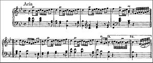 Variations and Fugue on a Theme by Handel - Image: Handel Var Theme