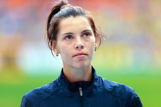 Hanna Knyazyeva-Minenko Israeli long jumper of Ukrainian descent