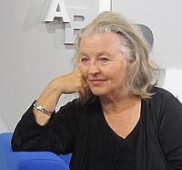 Hanna Schygulla Buchmesse.JPG