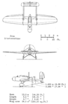 Hanriot H.110 3-view NACA-AC-182.png