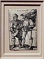 Hans sebald beham, portatore di stendardo e tamburino, 1544.jpg